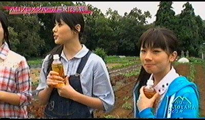 石田さんと舞美様。