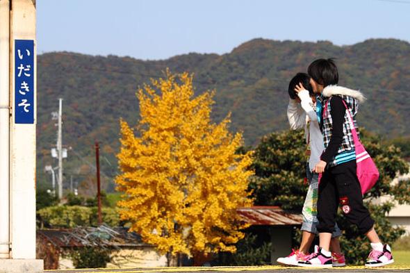 2009年11月下旬 和歌山電鐵貴志川線 伊太祈曽駅