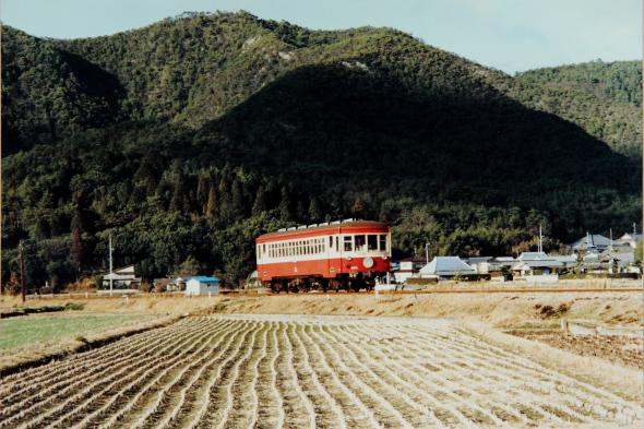 1987年1月 同和鉱業片上鉄道 益原~天瀬