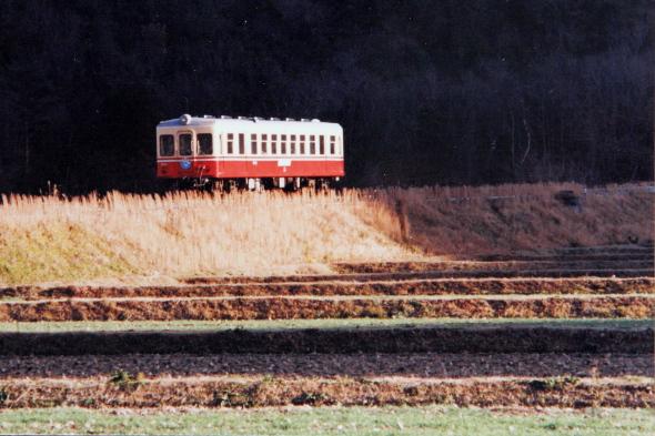1987年1月 同和鉱業片上鉄道