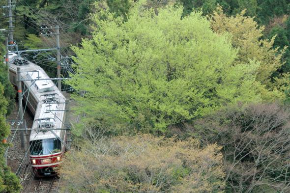 2013/4/21 南海高野線 紀伊神谷~極楽橋