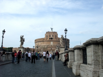 ローマ089サンタンジェロ城