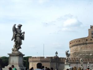 ローマ091サンタンジェロ橋