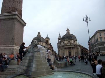 ローマ100ポポロ広場