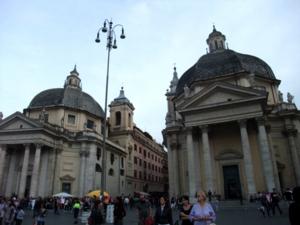 ローマ101ポポロ広場
