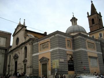 ローマ105サンタマリアデルポポロ教会