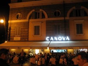 ローマ111ポポロ広場カフェ