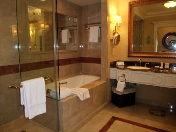 マカオ08ベネチアン:バスルーム