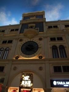 マカオ14ベネチアン時計塔