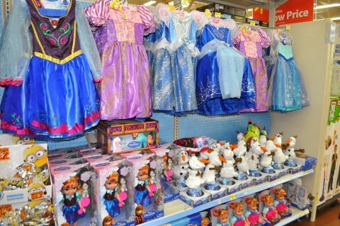 Shopping for FROZEN #FrozenFun #shop #cbias 3