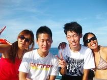 ダイビング タオ島 ダイバー