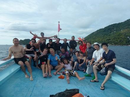 タオ島 ダイビング クリーンナップ