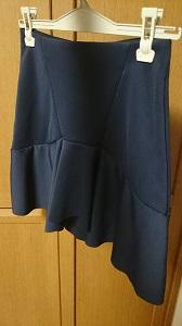 ザラ ネイビースカート