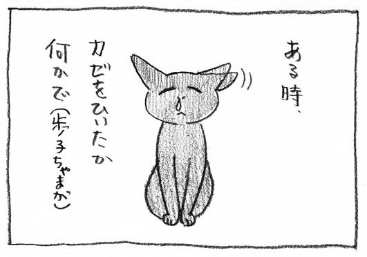 1_カゼひいた