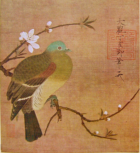 550px-Momohatozu_Huizong桃鳩図