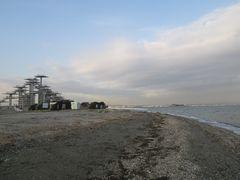[写真]富津岬の最先端にある展望塔