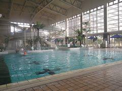 [写真]木更津・龍宮城ホテル三日月の屋内プールの様子