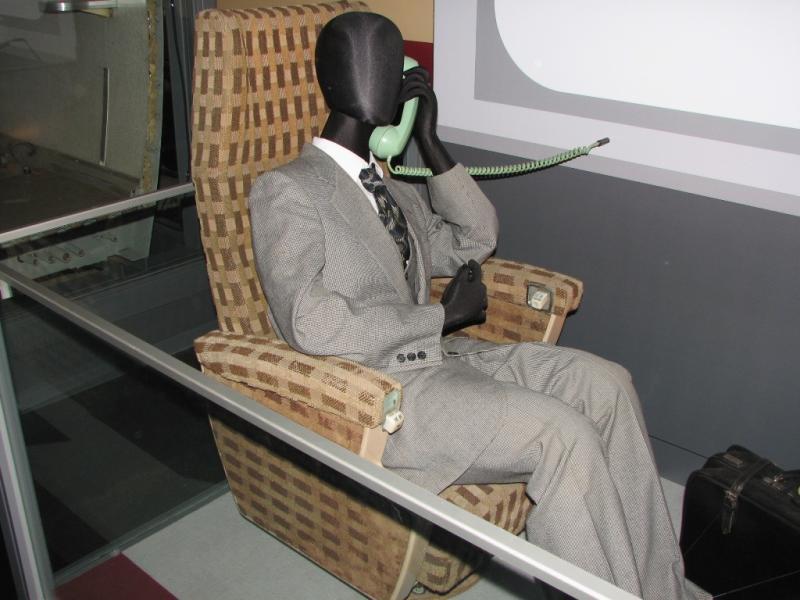 パーラーカー座席