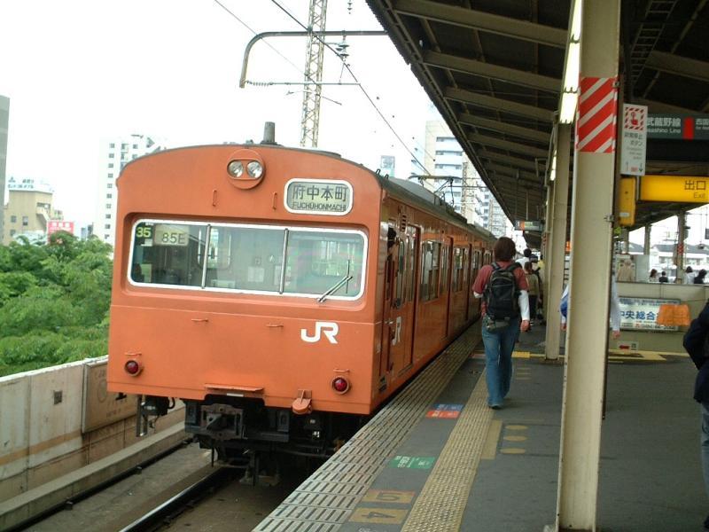 武蔵野線クモハ103