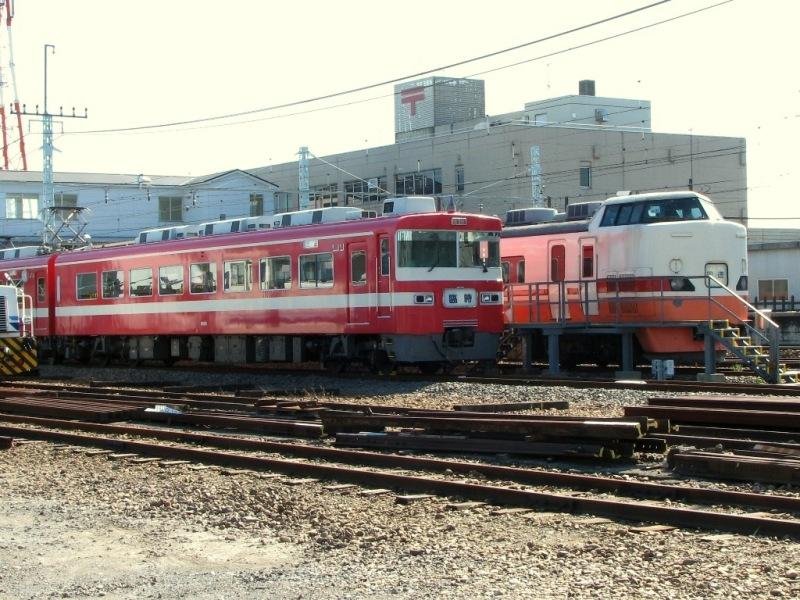東武1800系クハ1869とJR189系クハ189-2