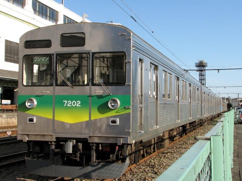 秩父鉄道7000系7202