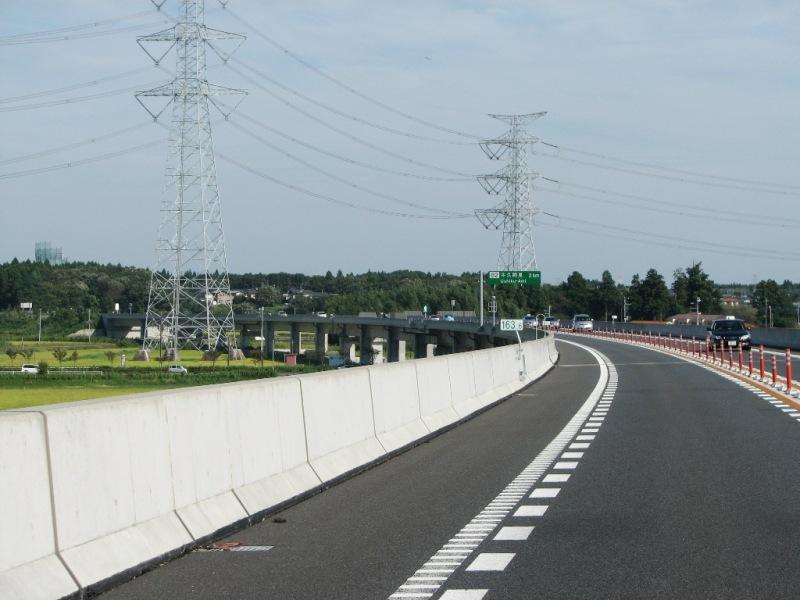 暫定2車線の高速道