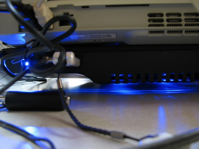 PC下も光る