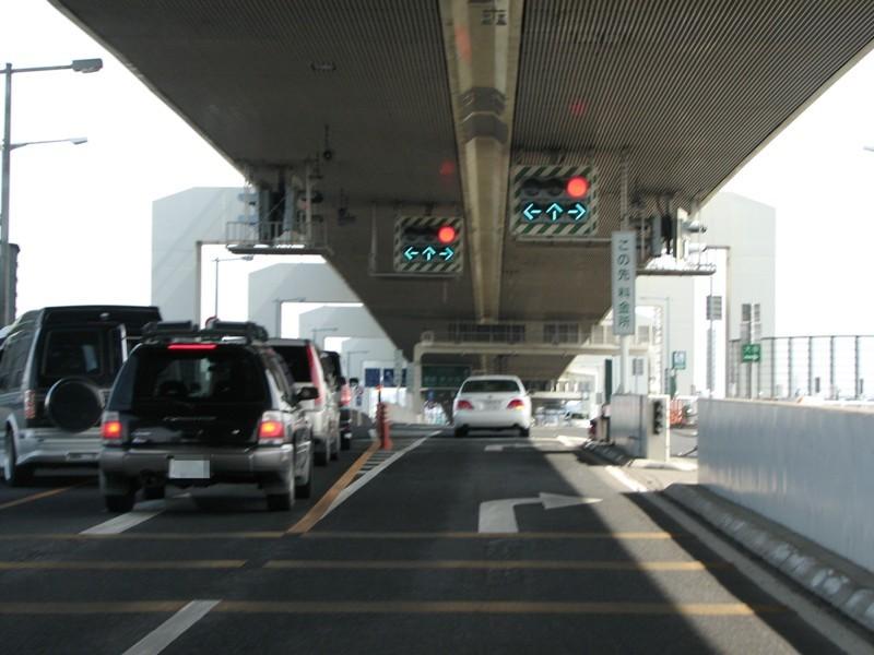 高速唯一の交差点JCT