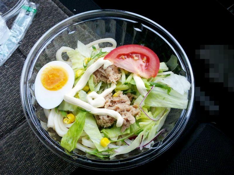 野菜を食べよう!サラダうどん