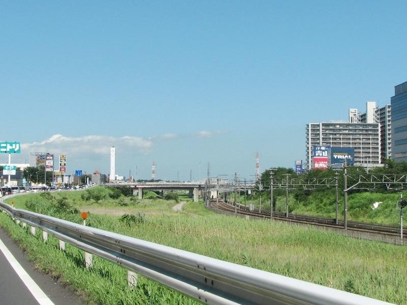 千葉ニュータウン(NT)中央駅付近