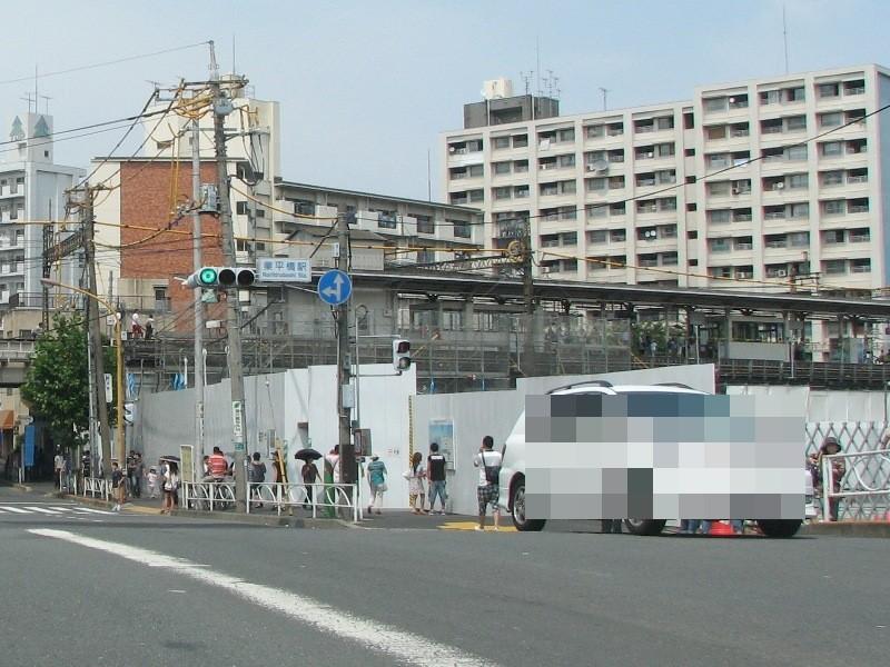 業平橋駅ホーム
