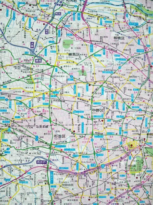 練馬ICへの地図