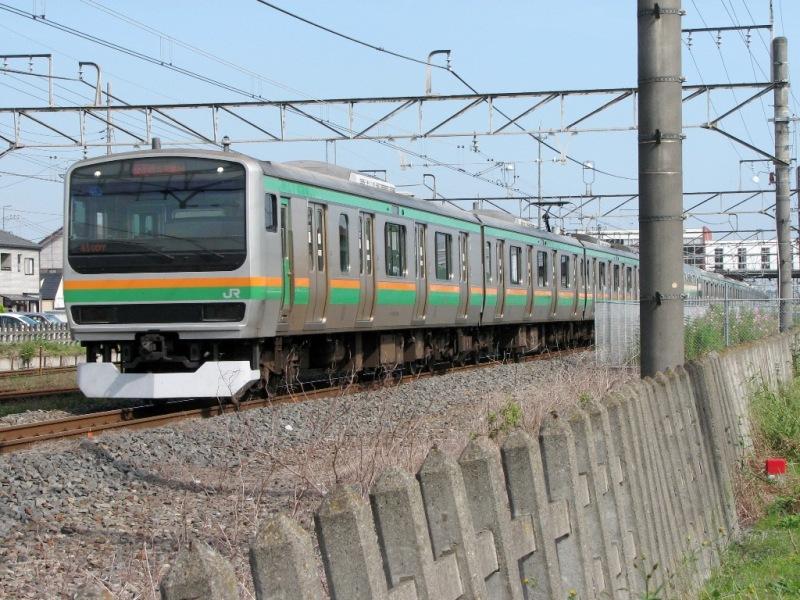 宇都宮線E231系