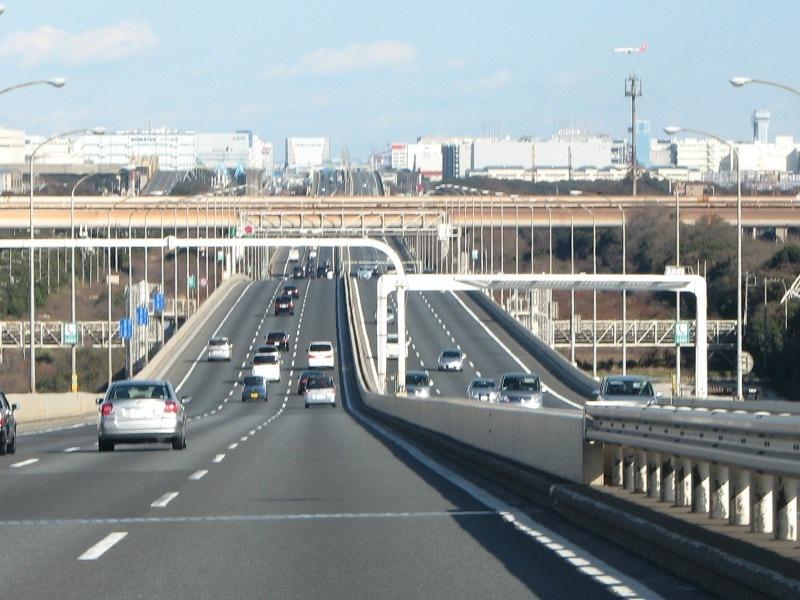 鶴見つばさ橋から東側
