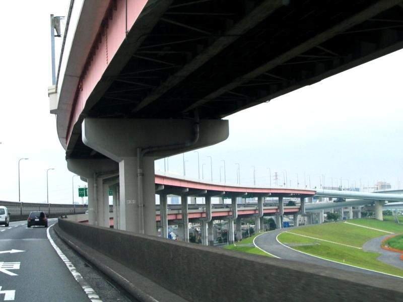 川口線江北JCT手前
