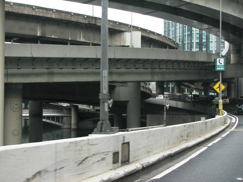 江戸橋JCT下の日本橋川
