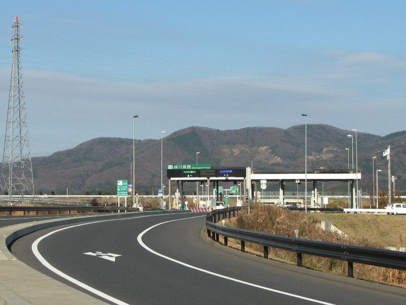 北関東道桜川筑西IC