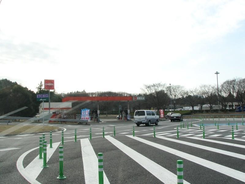 友部SA ガソリンスタンド