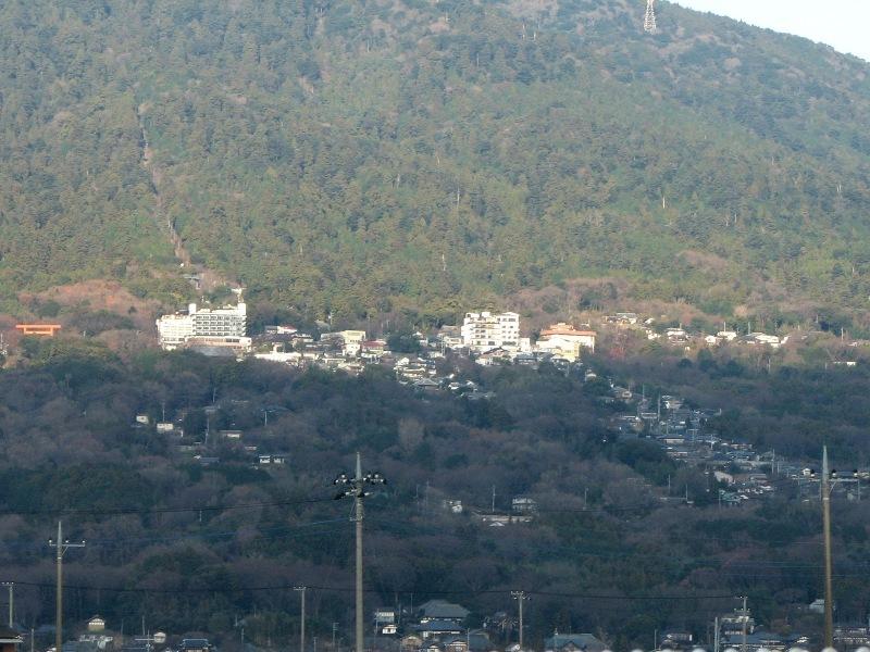 筑波山神社周辺