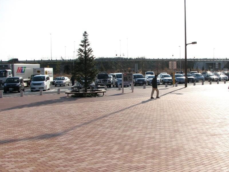 北関東道東北道方面駐車スペース