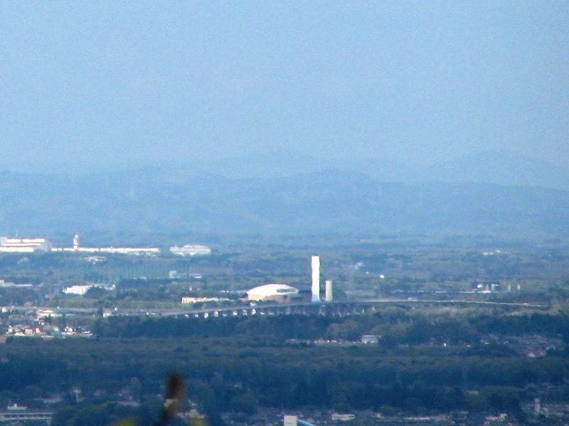 太平山から撮影