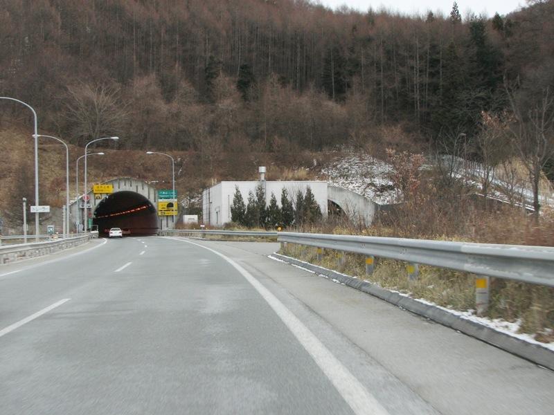 八風山トンネル