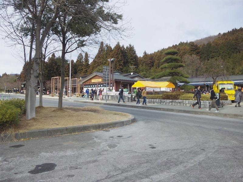 横川SA 関越道方面