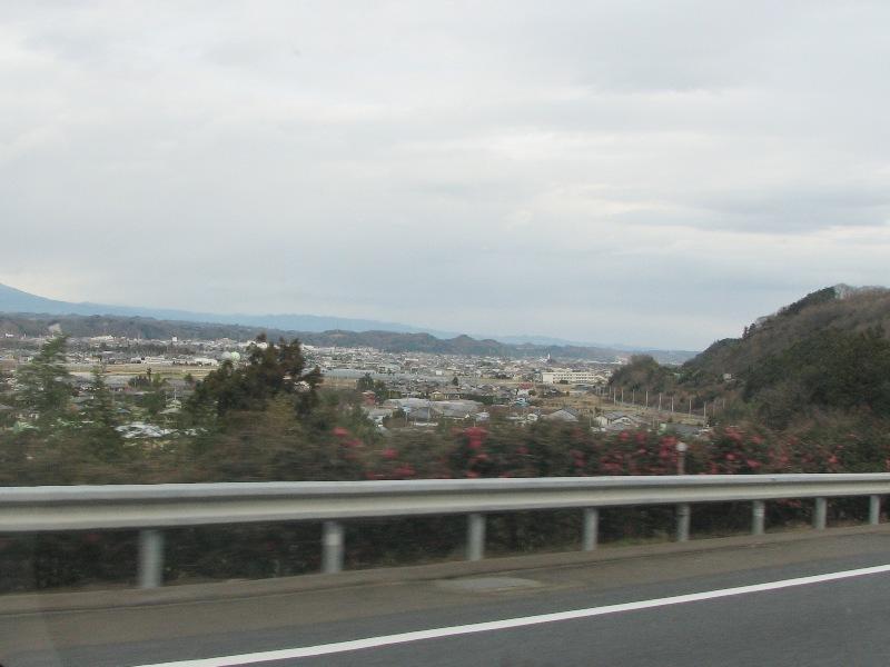 富岡市の町並み