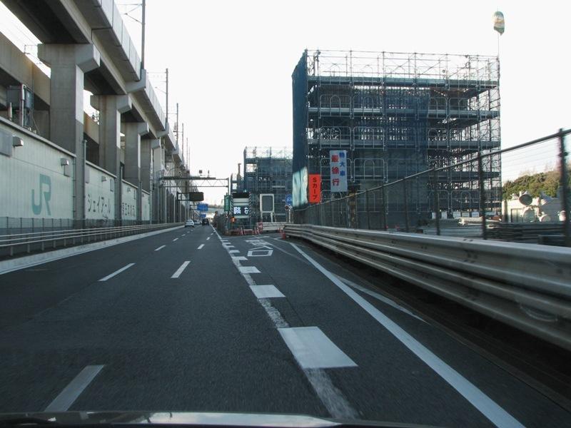 新木場・横浜方面入口