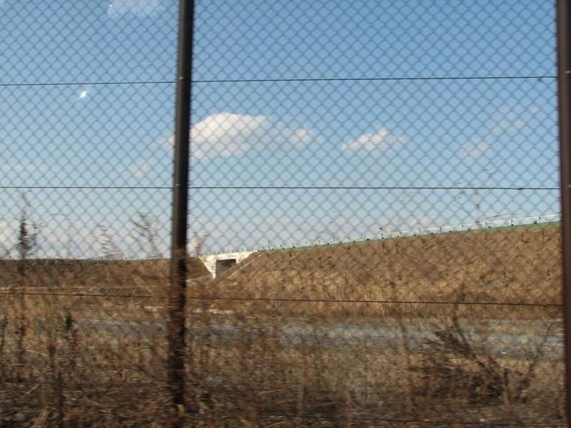 真岡SAの敷地