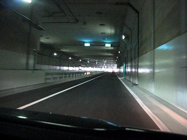 川崎駅方面からの合流