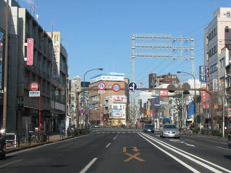 雪谷大塚駅前