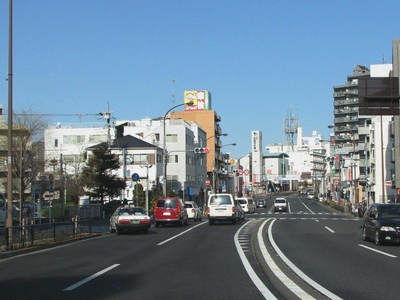 石川台交差点