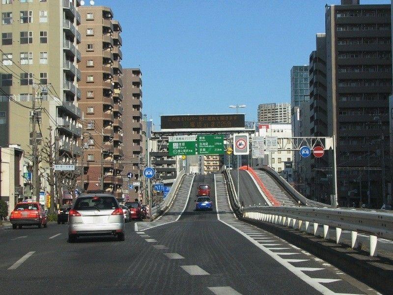 首都高荏原入口